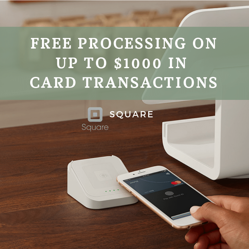 Free Square Credit Card Processing