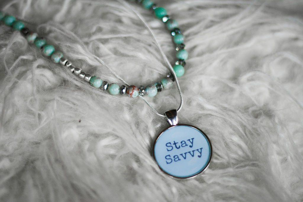 Stay Savvy Pendant Necklace