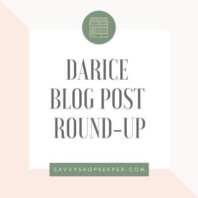 Darice Blog Post Round-Up