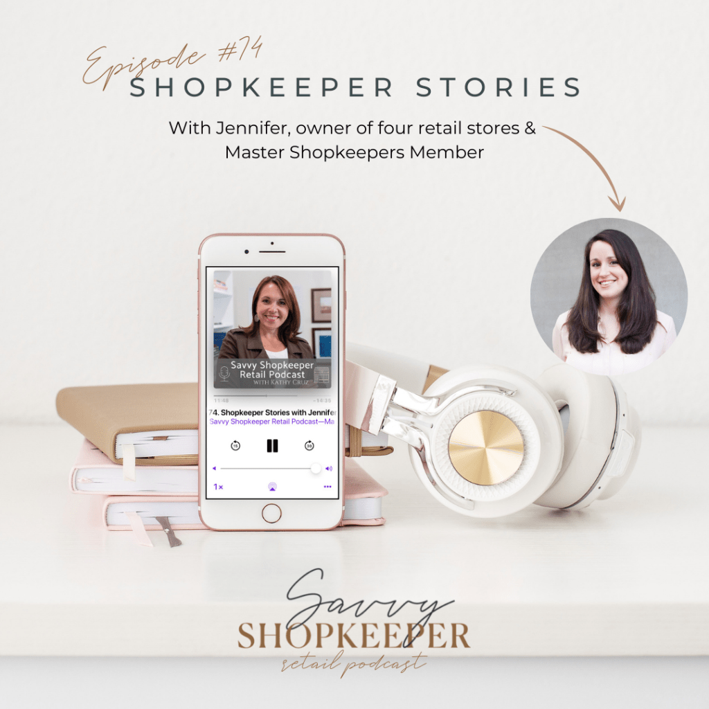 Ep. 74 Shopkeeper Stories with Jennifer of Paper Luxe