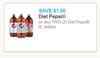 diet pepsi coupon