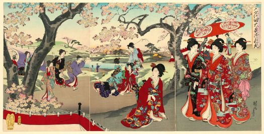 The History Of Hanami: Cherry Blossom Viewing Over The Ages ...