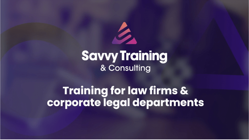 SavvyAcademy Learning Management System for Law Firms