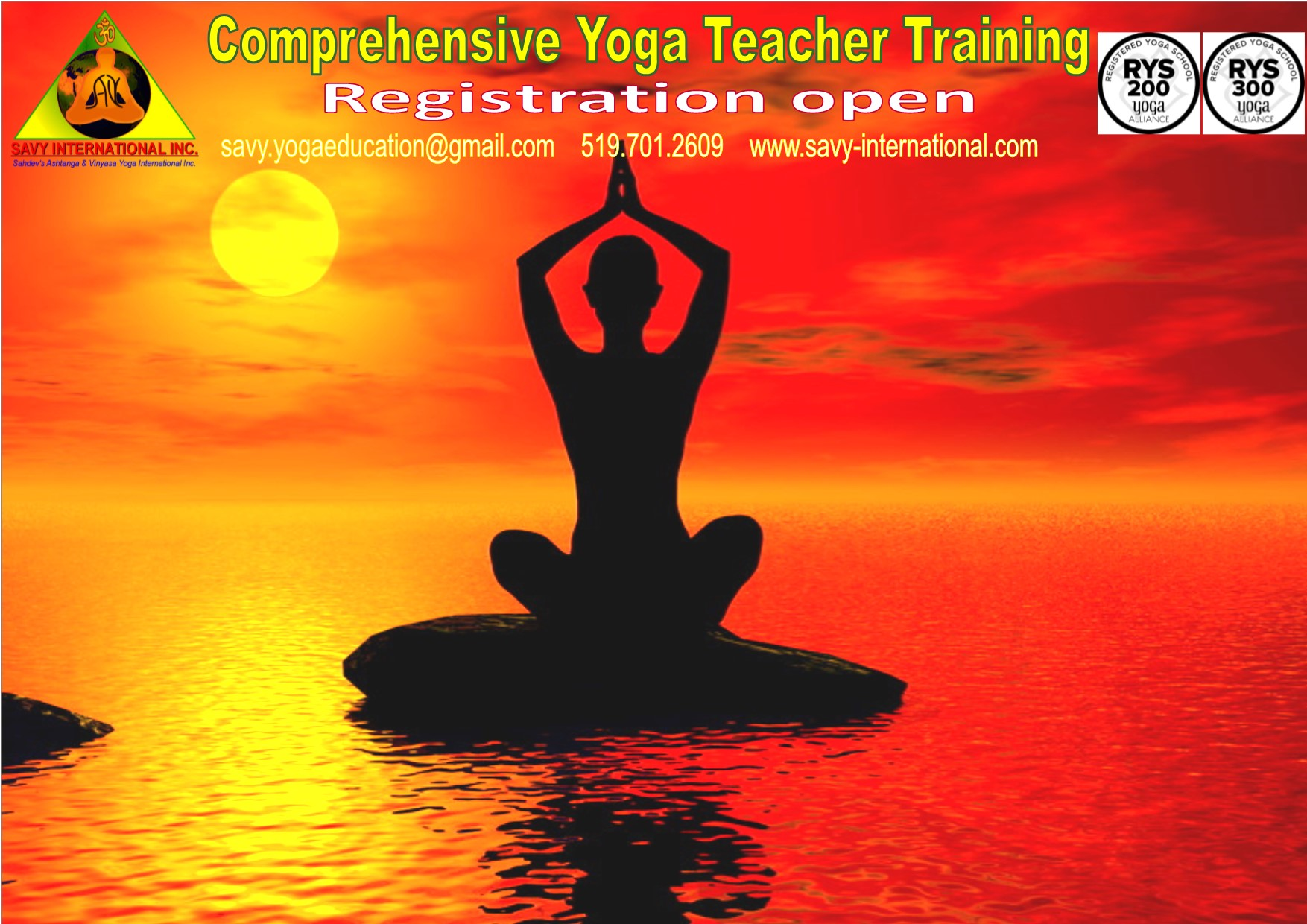 Most Comprehensive, Most Affordable Yoga Teacher Training London*