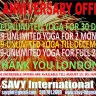 2nd Anniversary Offers - Unlimited Yoga!