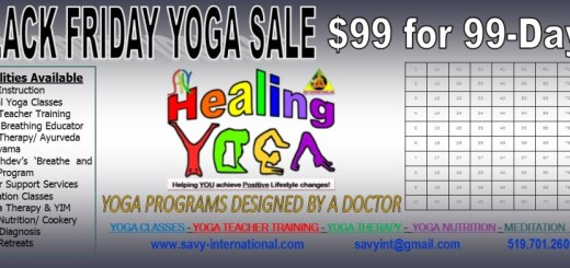 BLACK FRIDAY YOGA SALE