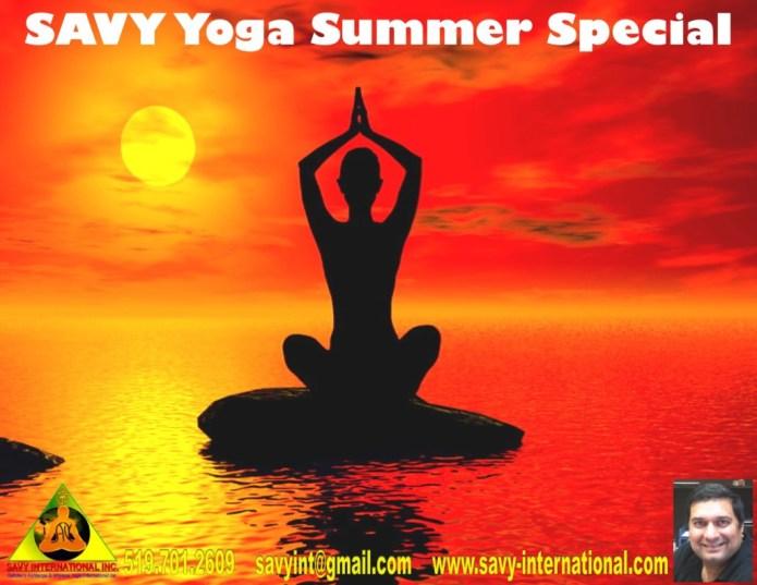 SAVY Yoga Summer Special