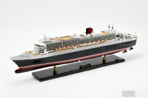 Queen Mary 2 Ocean Liner - Handcrafted Wooden Model Boat