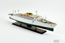 Ss Argentina - Moore-mccormack Lines Handcrafted Wooden