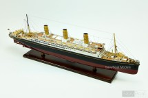 Ss Vaterland Ocean Liner - Handcrafted Model Ship
