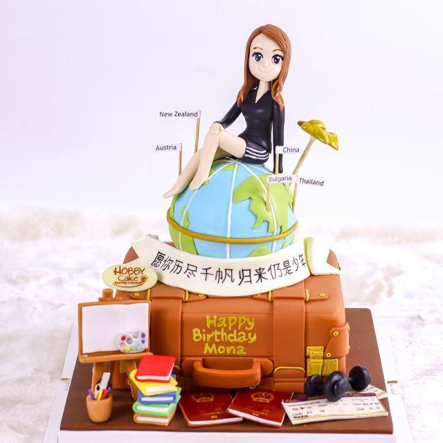 ฮ้อบบี้เค้ก สุขสันต์วันเกิด sawadd