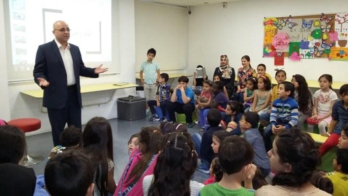 ليان وقمر الألوان - يوسف البري مع مجموعة الأطفال