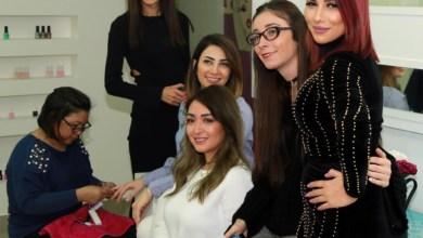 "Photo of نيرمين موافي تجمع الجمال والخير في ""fabula beauty lounge "" .. صور"