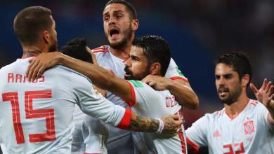 "Photo of اسبانيا تهزم إيران وتشارك البرتغال بالصدارة ..""فيديو"""