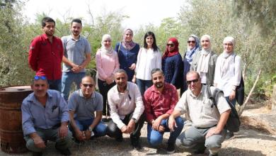 "Photo of ""البناء الأخضر"" المعمارية تشارك في افتتاح مشروع ""Greening the desert"""