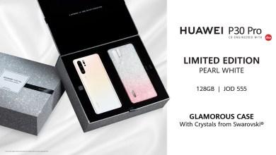 Photo of النسخة الجديدة من Huawei P30 Pro بالأبيض اللؤلؤي وغطاء الكريستال!