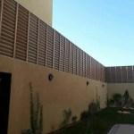 سواتر خشبية في الرياض
