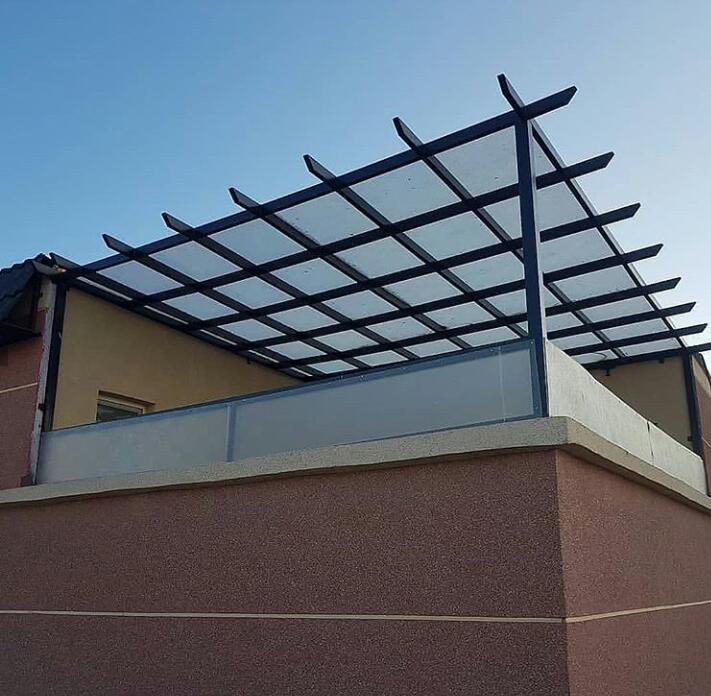 تركيب مظلة حديقة - عمل مظلة للسطح - مظلات للجلسات الخارجية