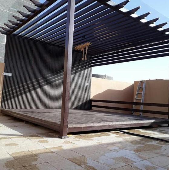 برجولات خشبية الرياض | تركيب برجولات خشب بأشكال عصرية