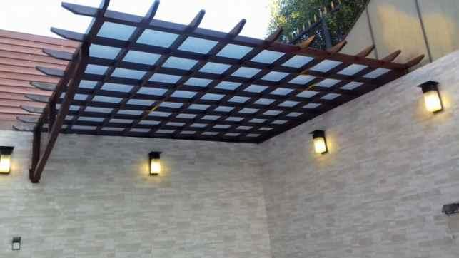 مظلات خارجية للمنازل | مظلات احواش 0535553929