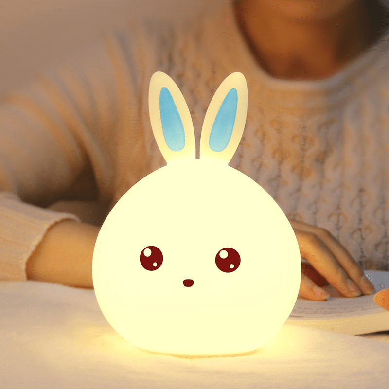 cute rabbit led night