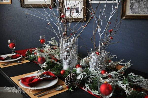 Pottery Barn Inspired Tablescape