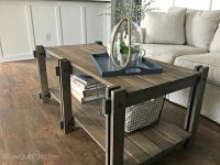 Ana White | Rustic Farmhouse Coffee Table Featuring ...