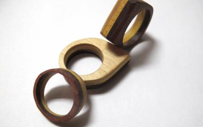 Wooden Finger Rings