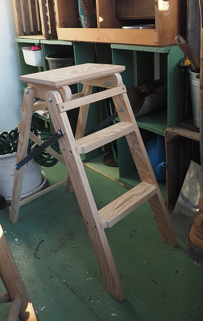 Making a Step Ladder