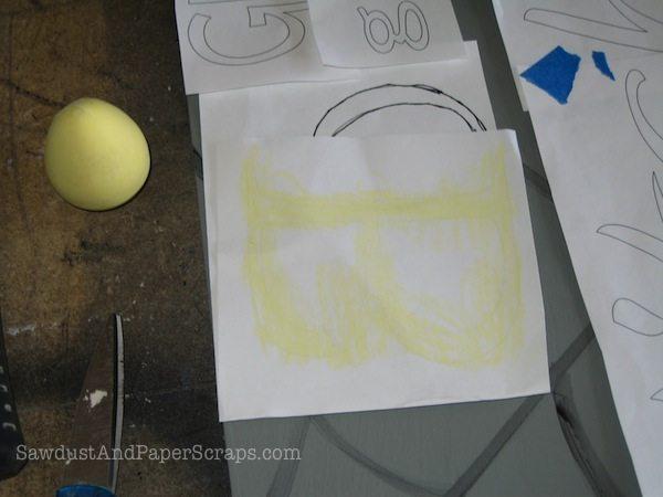 chalk rub