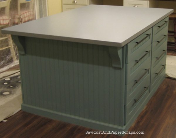 How To Build A Painted Mdf Countertop Sawdust Girl 174
