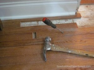 how to patch wood floors