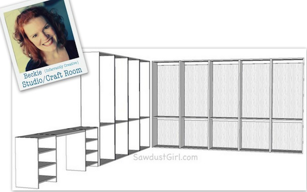 Beckie's Craft Studio Design