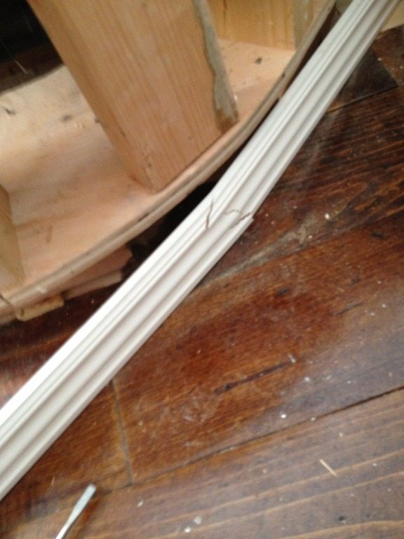 How To Bend Moulding Sawdust Girl