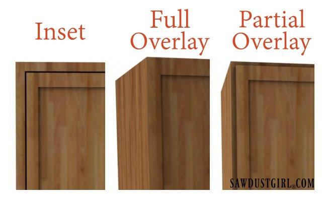 choosing cabinet door hinges sawdust girl rh sawdustgirl com installing full overlay cabinet hinges install 3 8 inset cabinet hinges
