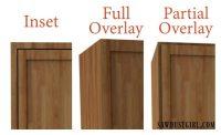 Choosing Cabinet Door Hinges - Sawdust Girl
