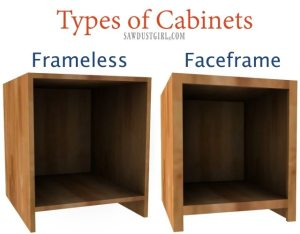 types of cabinets