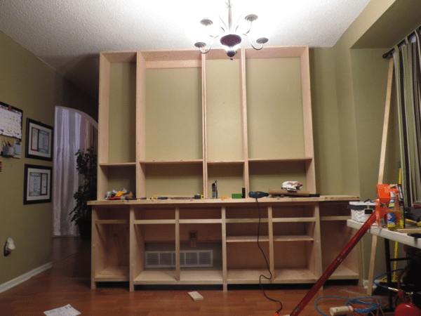 dining room buffet Built-in option 2