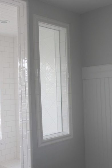 How to grout tile with a decorative profile