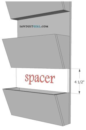 diy letter bin plans at SawdustGirl.com