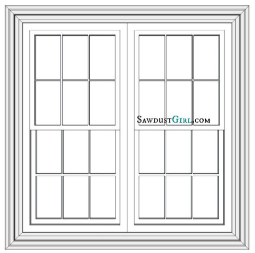 Adding window casings