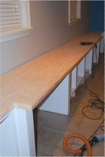 Making oak plywood countertops