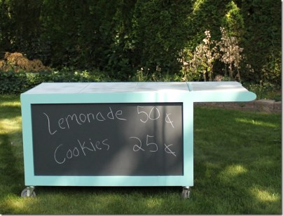 lemonade stand without canopy
