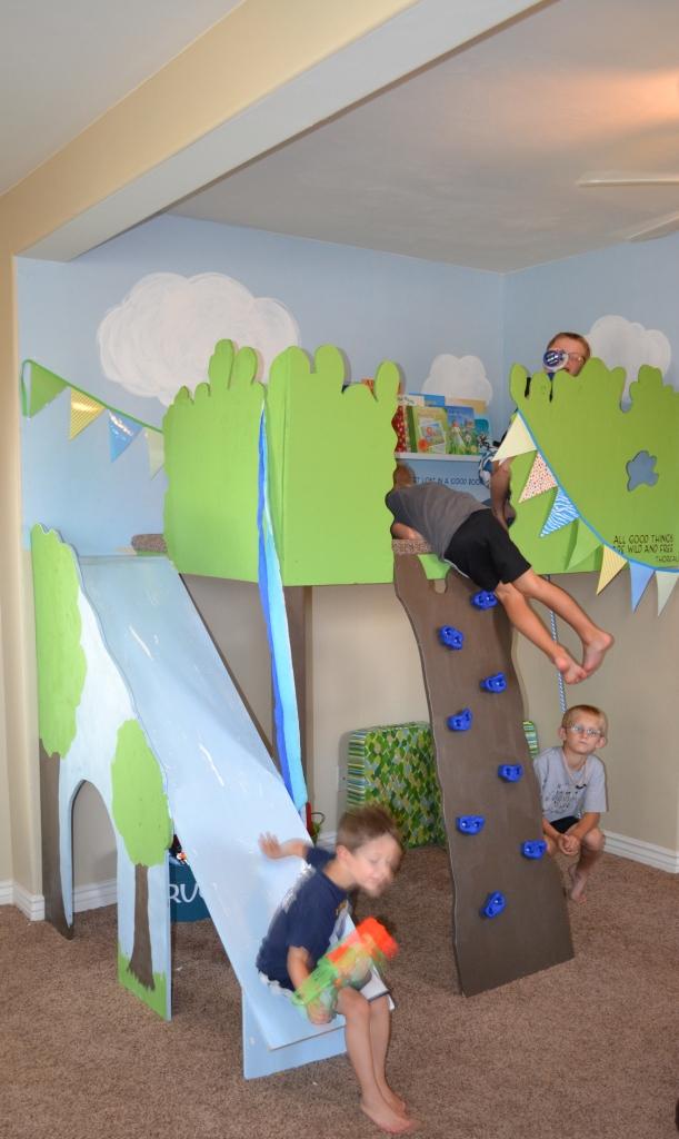 Magic Indoor Treehouse Sawdust Girl 174