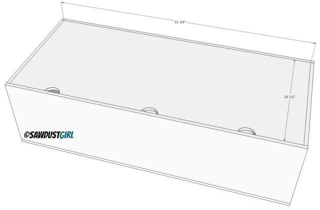 build a storage bench