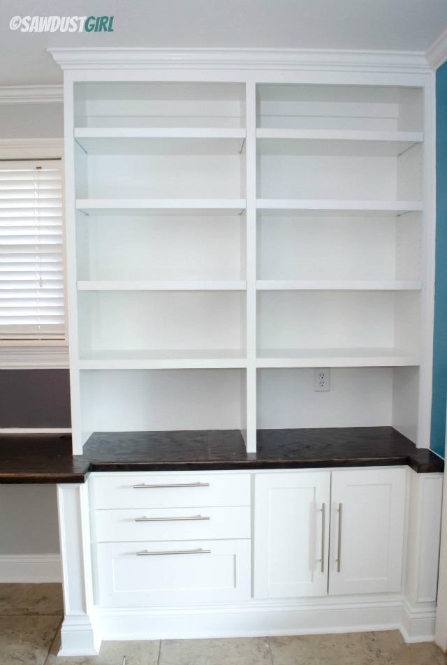 Built In Office Suite. Https://sawdustdiaries.com