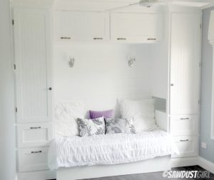 built-in storage daybed