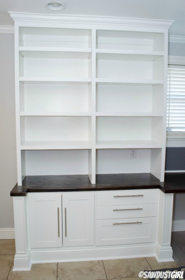 Builtin Office Cabinets