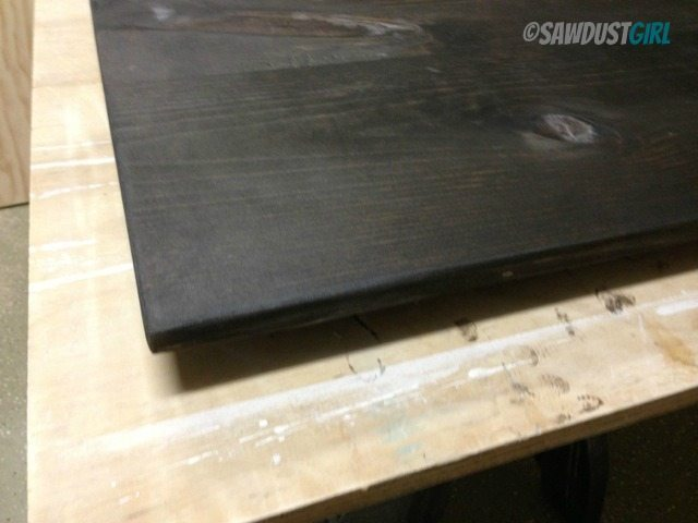 painting tips: elevate work surface