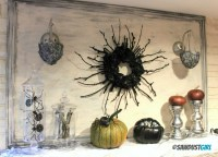Creepy DIY Halloween Candle Sconce - Sawdust Girl
